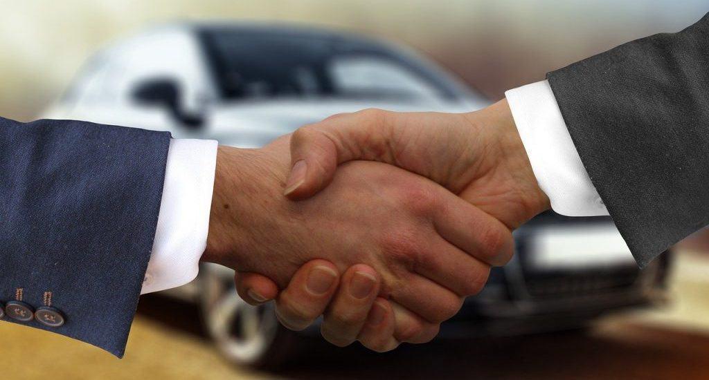 köpa och pruta på ny bil