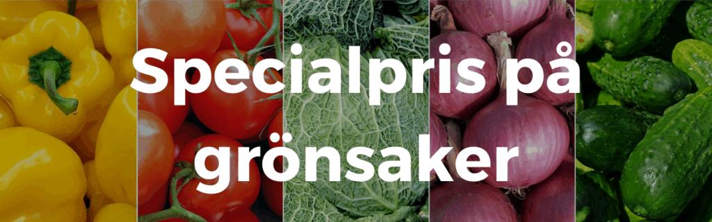 billiga grönsaker
